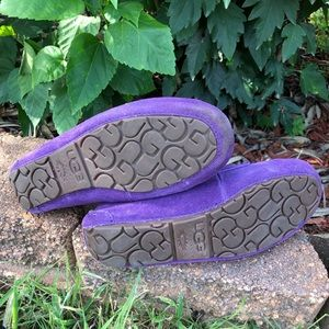 "484e47b10c0 ""Lizzy"" Suede Moccasin Slippers from UGG"